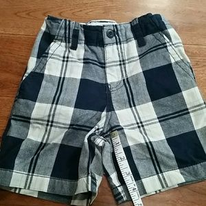 Boys Faded Glory plaid shorts